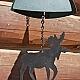 Moose door bell / wind chime