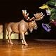 Moose sculpture