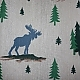 Moose on our shower curtain?