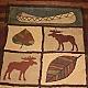 More moose rug