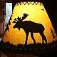 Moose lamp shade